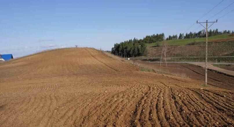 Okuniowiec działka rolna pod zabudowę siedliskową