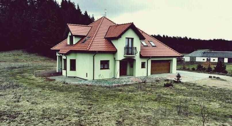Osinki, Atrakcyjny dom, duża działka 1,1 ha