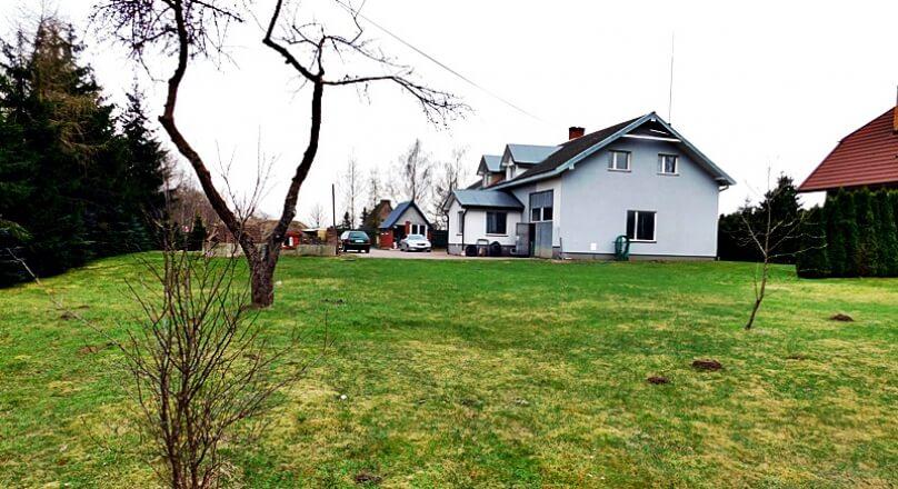 Dom dwurodzinny 417m2, warsztat oraz wiata, działka 2900m Jasionowo gm. Suwałki