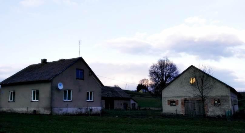 Siedlisko wiejskie  4.48ha Filipów