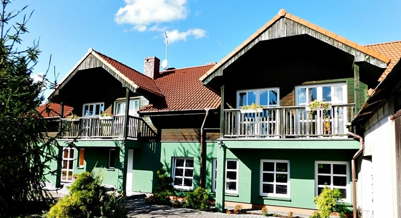 Pensjonat, 8 pokoi, 575m2 Danowskie, gm. Nowinka