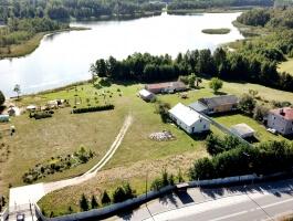 Ryżówka gm Krasnopol, Siedlisko przy jeziorze Dowcień