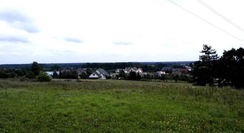 Działka budowlana Krzywe, Suwałki 1500m2