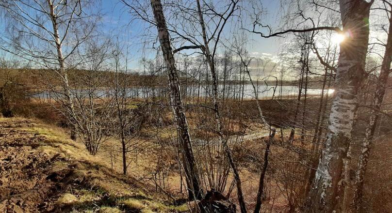 Becejły, działka przy jeziorze Szelment Mały, 1.050 ha