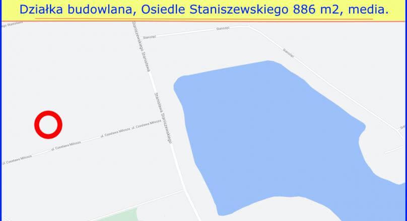 Działki na sprzedaz Suwałki Staniszewskiego, 870 m2