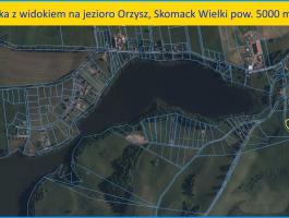 Orzysz, Skomack Wielki 5000 m.kw. działkę sprzedam