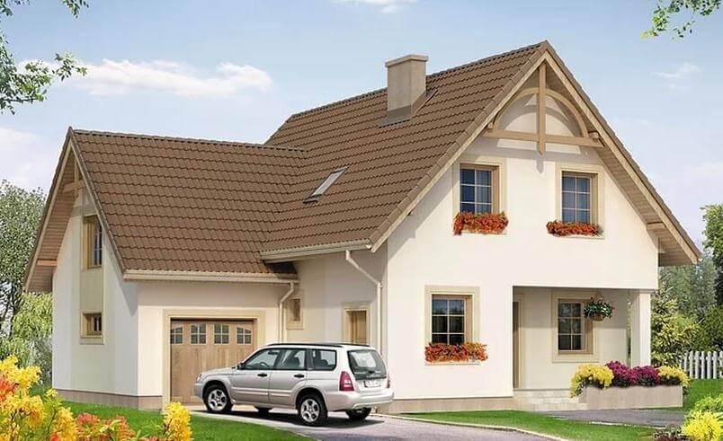 Dom w stanie Surowym, 139 m2, Krasnopol, działka 4073 m.