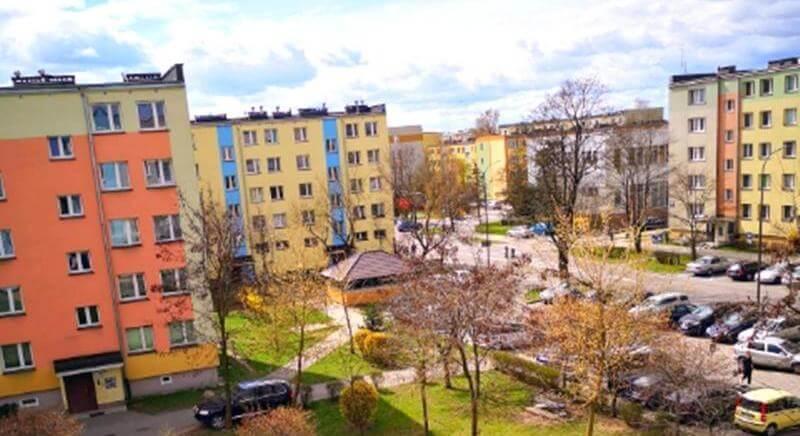 Słoneczne 3 pok. mieszkanie, Centrum-1 Maja-Suwałki, 47m2
