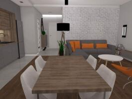 Chopina Park, Nowy Apartament do wynajęcia 63 m2 3 pok, Taras