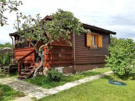 Działka z domkiem na Rodzinnym Ogrodzie Działkowym Malinka w Suwałkach.