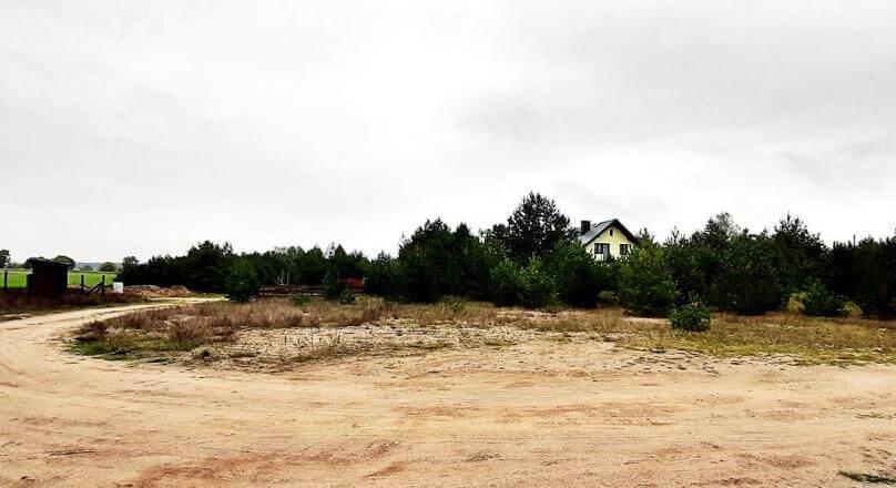 Działka budowlana Berżałowce powiat Sejneński, 1432 m2Sprzedam