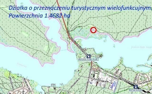 Działka pod turystykę 1.5ha Augustów