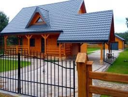Serwy, atrakcyjny dom drewniany 90m2