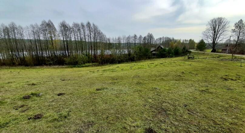 Działka z dojściem do jeziora, gm. Sejny jezioro Iłgiel.