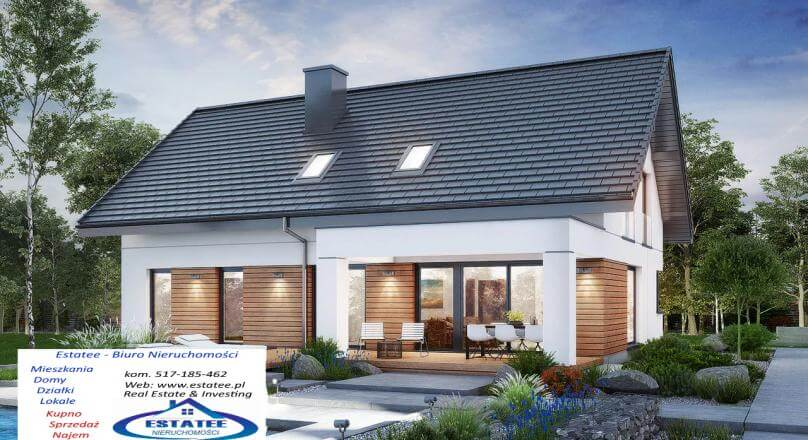 Nowy dom na Osiedlu Staniszewskiego, 207 m2, podwójny garaż. Suwałki.